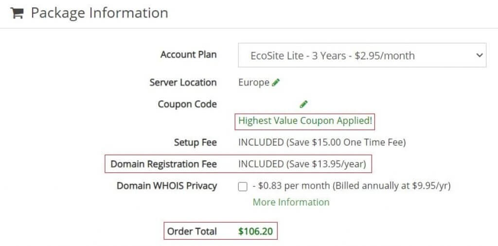 Insidehost Special Greengeeks Coupon Applied!