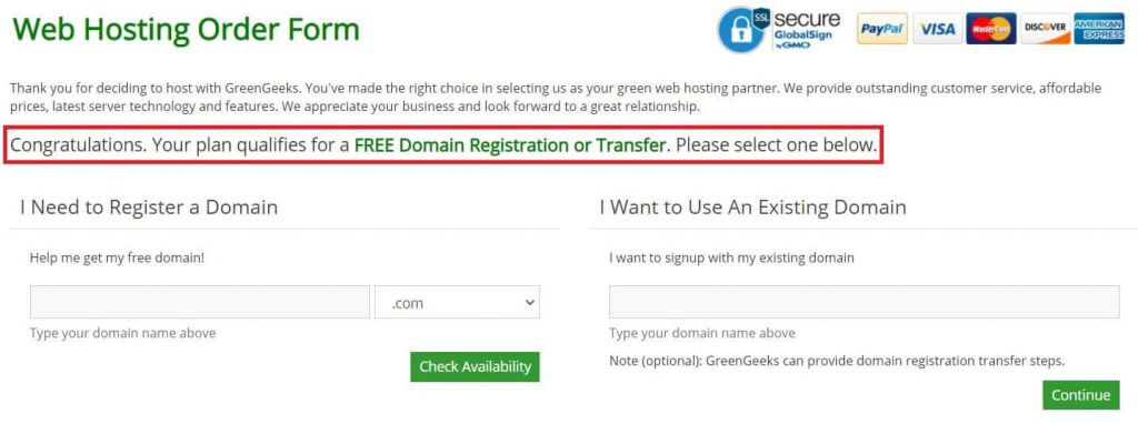 Register A Free Domain Name