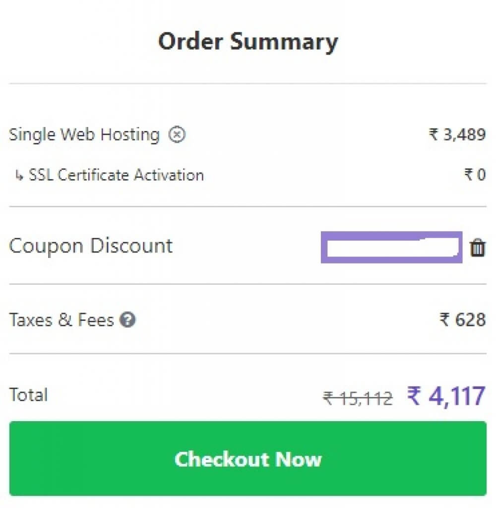Apply Our Hostinger Coupon Code India